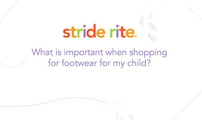 stride rite healthy foot tip video