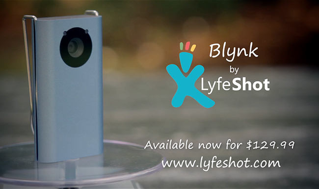 Lyfeshot Meet Blynk Product video
