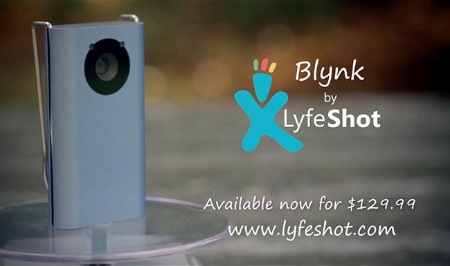 Lyfeshot Meet Blynk Product video